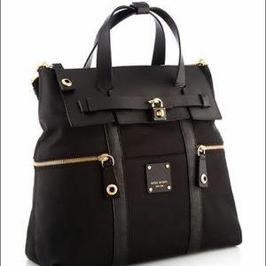 Henri Bendel Jetsetter Convertible Backpack, BL/GO